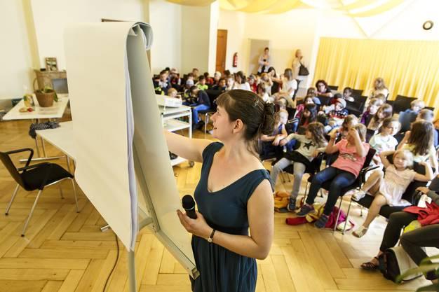 Workshop mit Mira Gysi im Alten Spital.