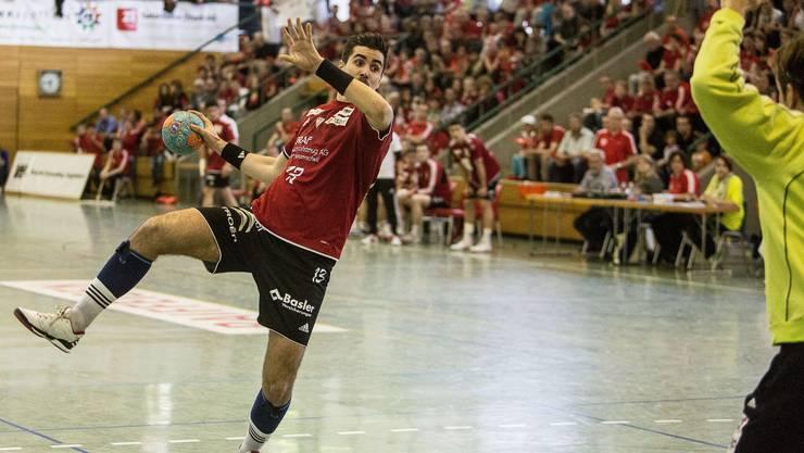 HSC-Spieler Armin Sarac beim Hinspiel gegen GC Amicitia.