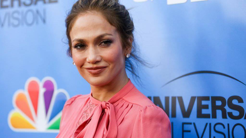 Jennifer Lopez ist zusammen mit ihrem Ex-Mann Marc Anthony aufgetreten und hatte Spass am gemeinsamen Singen (Archiv)