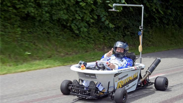 Der Garagist Hannes Roth mag hohe Geschwindigkeiten, Nervenkitzel und Bierideen.