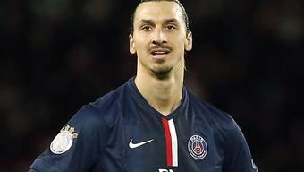 Zlatan Ibrahimovic kann nicht fassen, dass er auf dem Wichtigkeits-Rankung nur den zweiten Platz belegt.
