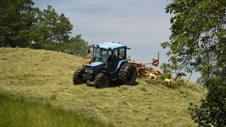 Ein Traktor hat für den Forstbetrieb Brugg mehr Vorteile. (Symbolbild)