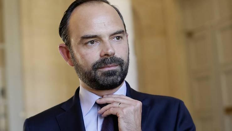 Mit Philippe setzt Präsident Macron einen Politiker bürgerlichen Republikaner-Partei an die Spitze seiner neuen Regierung. Er hofft, mit dem Schritt bei den Parlamentswahlen unter Konservativen viele Stimmen zu holen. (Archiv)
