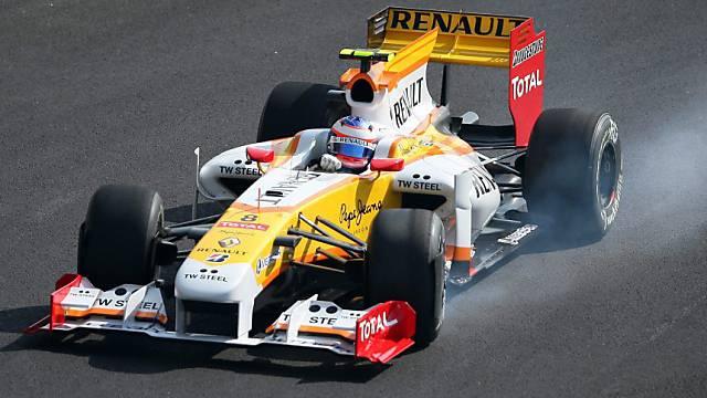 Bald wieder im Renault: Romain Grosjean