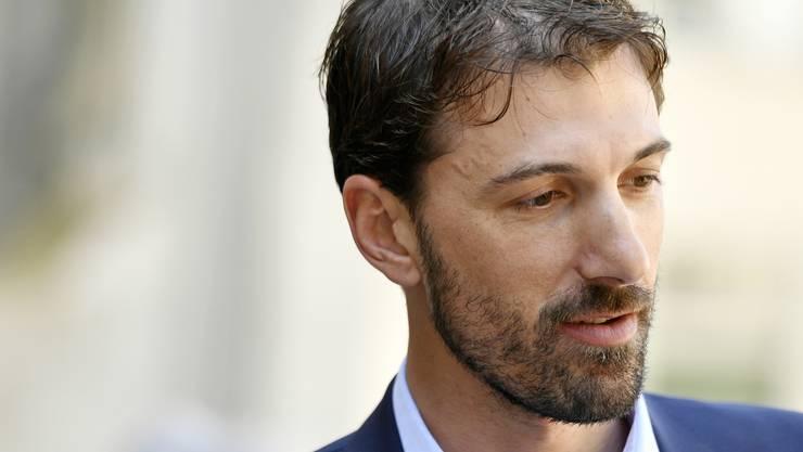 Auch Radlegende Fabian Cancellara nimmt Abschied von Andy Rihs.