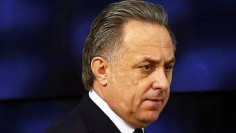 Russlands Sportminister Witali Mutko ist über den IAAF-Entscheid nicht erfreut