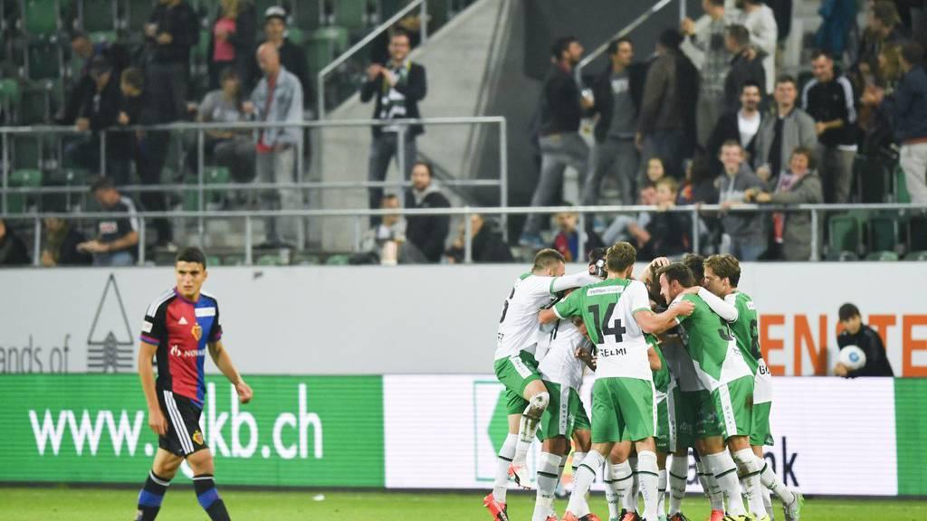 Rekordkulisse gegen Basel erwartet
