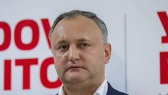 Richtet seinen Blick eher nach Moskau als nach Brüssel: der neue, prorussische Präsident von Moldau,  Igor Dodon.