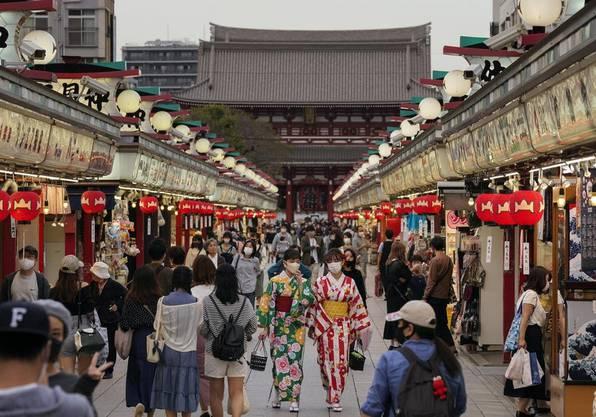 Japan öffnete am 1. Oktober seine Grenzen für Reisende wieder etwas. (Bild: Keystone)
