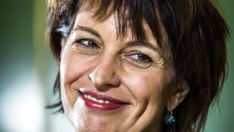 «Wo finden wir im Budget 100 Millionen für die Digitalisierung?», fragt Doris Leuthard rhetorisch.