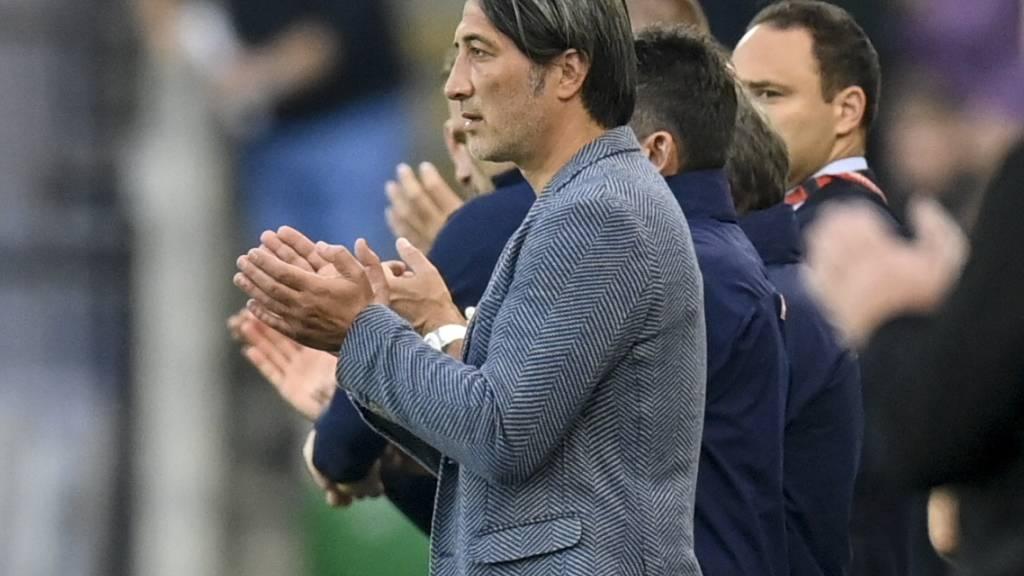 Trotz Nullnummer gegen Nordirland gab es für die Schweizer von Coach Murat Yakin auch ein wenig Applaus