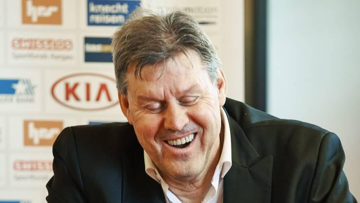 FC Aarau-Vizepräsident Roger Geissberger kann wieder lachen. (Archivbild)