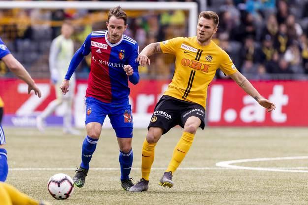 Der FC Basel geht mit einer knappen 1:0-Führung in die Halbzeitpause.