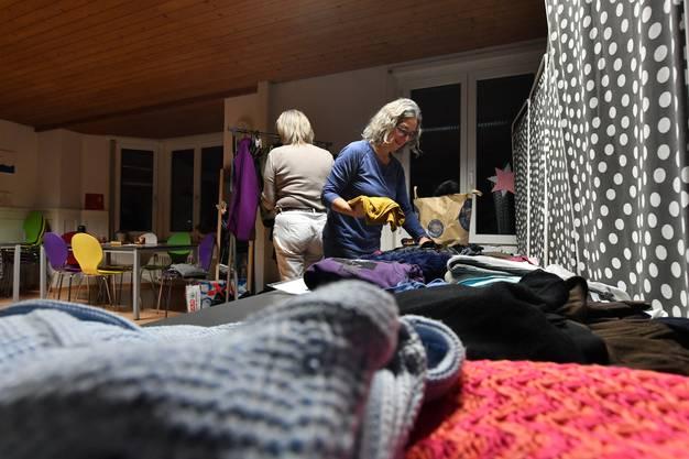 Die Organisatorinnen möchten den Kleidertausch auch zukünftig jeweils im April und im November anbieten.