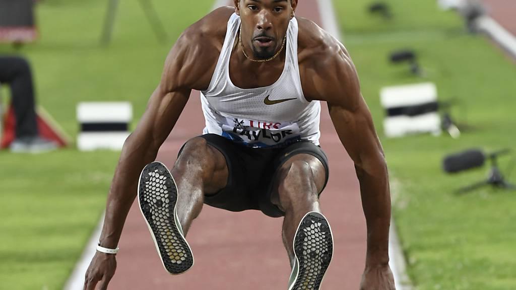 Dreisprung-Olympiasieger Christian Taylor fällt mit einem Achillessehnenriss lange aus
