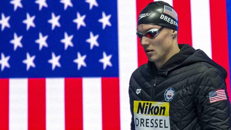 Caeleb Dressel gewann in Gwangju sechs Gold- und zwei Silbermedaillen