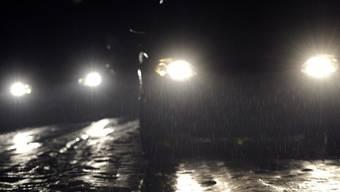 Glatteis führt zu prekären Verhältnissen auf den Strassen. (Symbolbild)