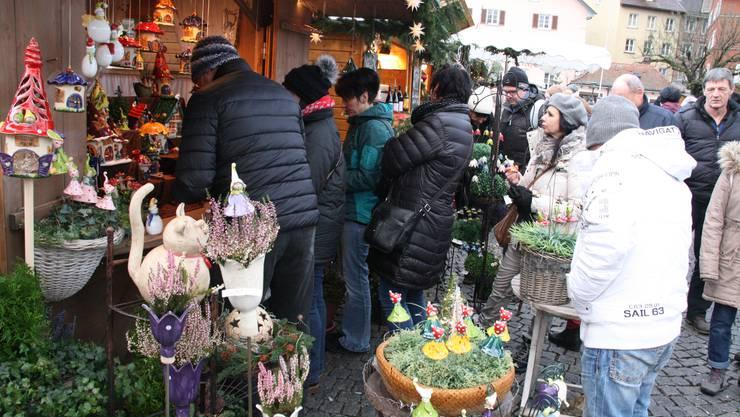 Ein Publikumsmagnet: Impressionen der 14. Altstadtweihnacht im 2017