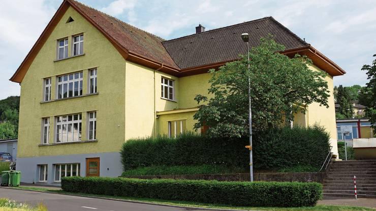Das Schulhaus Dorf in Gebenstorf wurde 1930 gebaut.