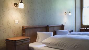 Hotelbetten in der Schweiz waren auch im September gut besetzt. Allerdings hat sich das Übernachtungswachstum etwas verlangsamt. (Themenbild)