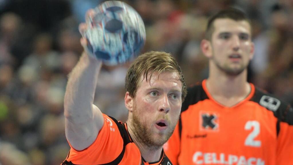Gabor Csaszar stellte kurz vor Schluss den Sieg der Kadetten sicher.