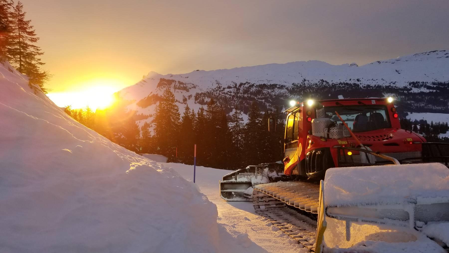 Pistenbully  Bergbahnen Sörenberg Kilian Bucher