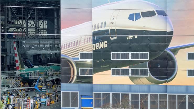 Boeing-Fabrik in Renton, Washington: Fällt der Vorhang für die umstrittene 737-Max-8-Maschine bald ganz?