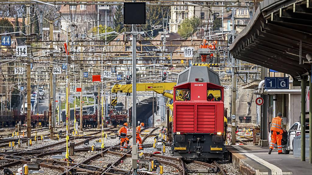 Neues Stellwerk am Bahnhof Lausanne in Betrieb genommen
