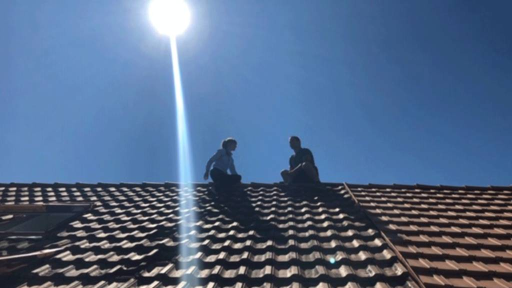 Mit Willy Graber über den Dächern von Bern