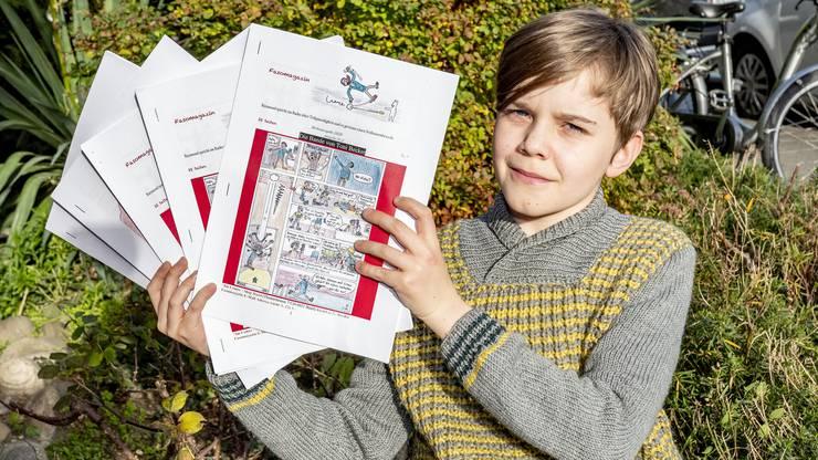 Vinzenz Zehnder arbeitet bereits an der siebten Ausgabe seines Magazins. (Bild: Nicole Nars-Zimmer)