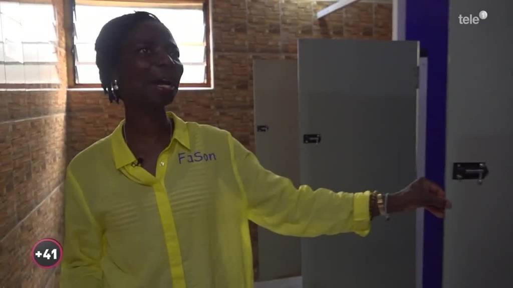 WC-Häuser für die Heimat