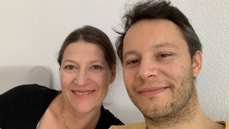 Karin Marchetti und ihr Partner Jonathan Bruegger erwarten ihr zweites Kind.