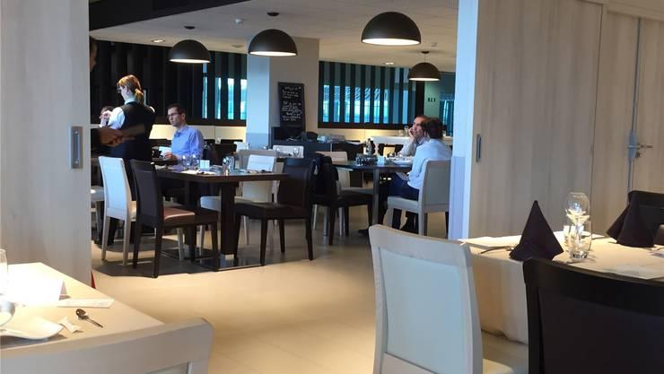 Seit Ende April gibt es im fünften Stock des Euro-Airports ein neues Restaurant.
