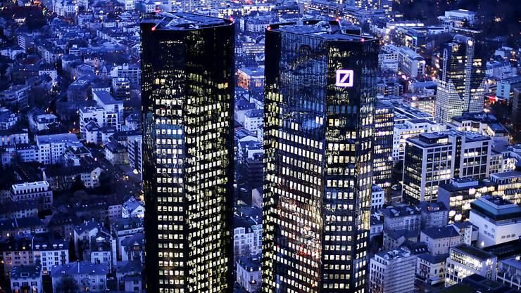 Der Deutschen Bank steht in den USA laut Medienberichten weiteres Ungemach ins Haus. (Archivbild)