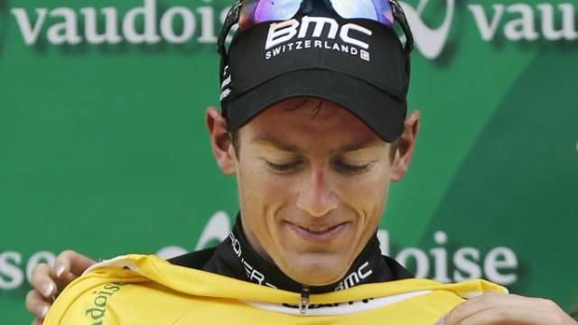 Mathias Frank bleibt Leader der Tour de Suisse
