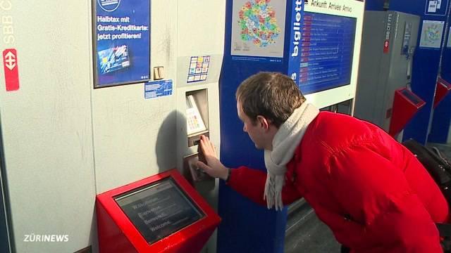 SBB rüstet ZVV-Automaten auf