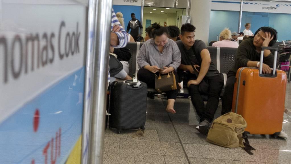 Hunderttausende Kunden des insolventen deutschen Reisekonzerns Thomas Cook können hoffen: Die Bundesregierung will betroffenen Pauschalurlaubern finanziell unter die Arme greifen. (Archiv)