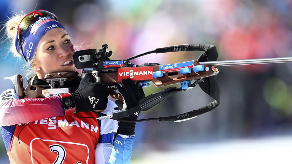 Schweizer Biathlon-Frauen missglückt die Staffel