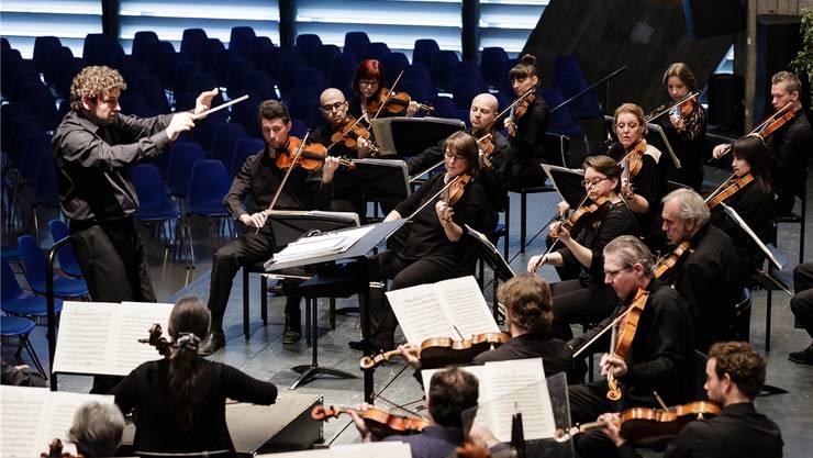 Auch dabei: Stiftung Theater Orchester Biel Solothurn (TOBS). Im Bild das Sinfonieorchester.
