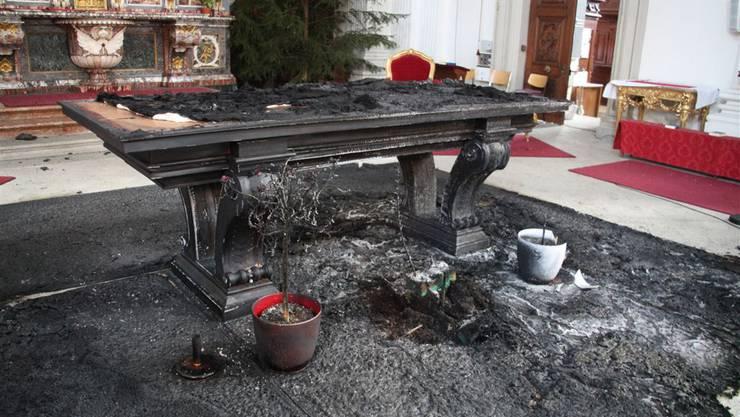 A.Z. richtete im Januar 2011 grossen Schaden in der St. Ursenkathedrale an. Solchen Taten sind meist der Endpunkt einer krisenhaften Entwicklung.
