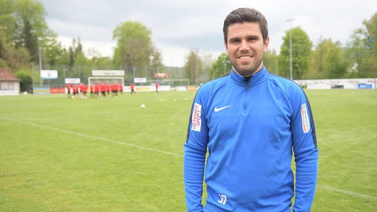 João Paiva hat gut lachen: Der FC Dietikon führt die Tabelle in seiner Gruppe in der 2. Liga interregional an.