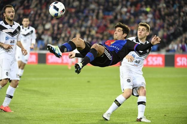 Davide Callà muss im Training alles geben.