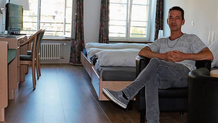 Patrick Bacher zieht zumindest eine positive Sommerbilanz für sein Hotel Mokka.
