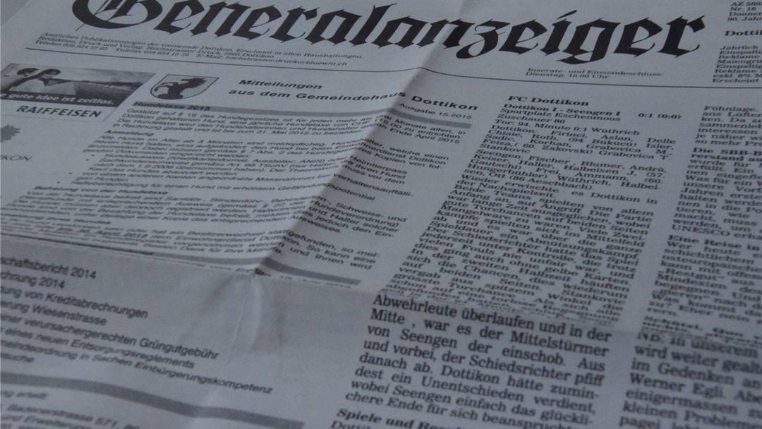 Das informative Monatsmagazin fr Seengen 04 - Dorfheftli