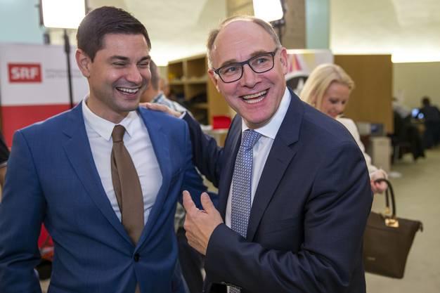 Benjamin Giezendanner schafft erstmals die Wahl in den Nationalrat - als zweitbester auf der SVP-Liste.