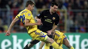 Lionel Messi Doppeltorschütze gegen BATE