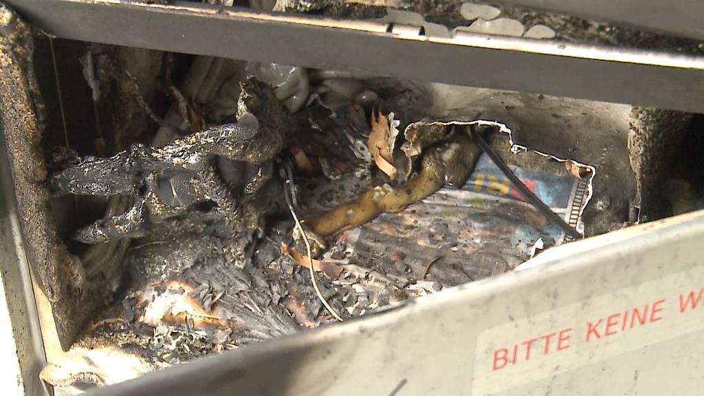 Brandanschläge auf Briefkästen von SP-Politikern: Verfahren sistiert