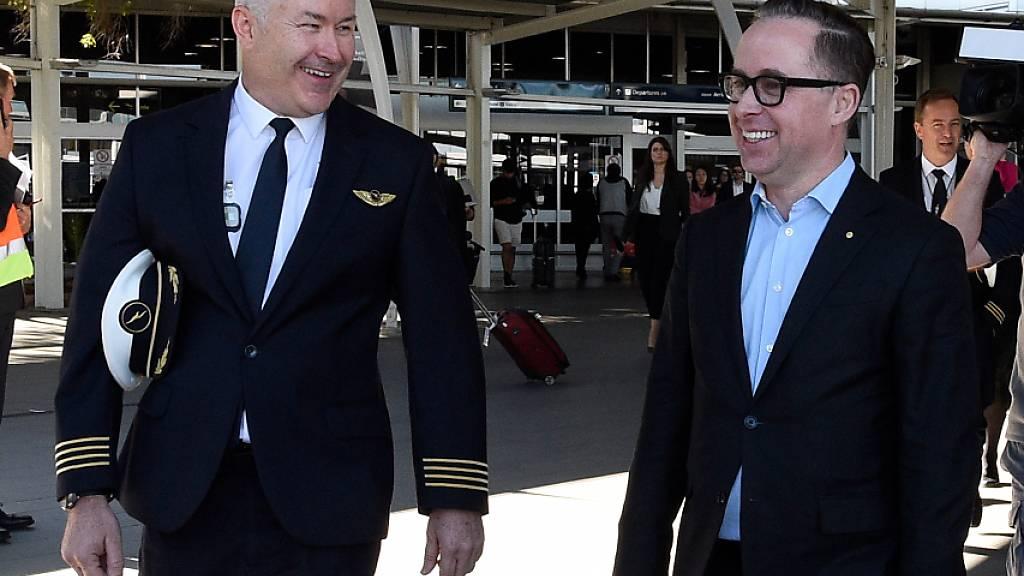 Längster Nonstop-Flug: In 19 Stunden von New York nach Sydney