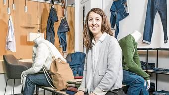 Tatjana Tschesno hat von Corinne Pfister den Laden übernommen.