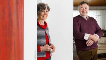 Bernadette Umbricht-Schwaller (Lohn Ammannsegg) und Hermann Gehrig (Aeschi) führen die Stiftung mit viel Engagement.